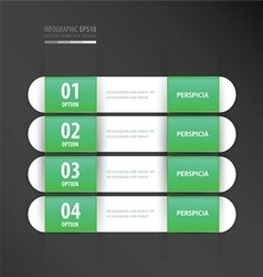 Banner template neon green vector