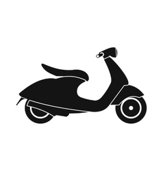 Classic scooter icon simple style vector image