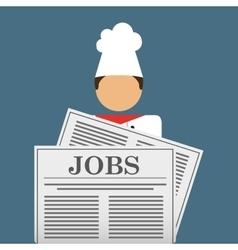 employment exchange vector image vector image