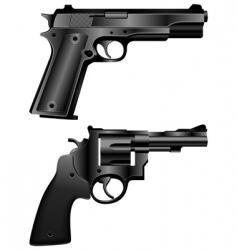 Handguns vector