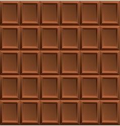 Milk Chocolate Background vector image