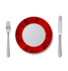 plate design vector image