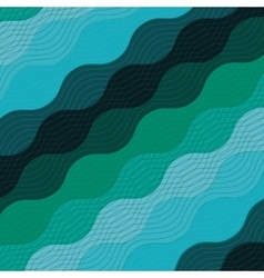 Water waves background icon vector