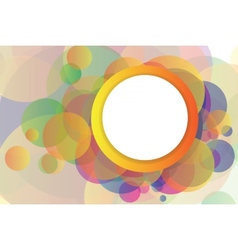 Abstract background with elements vector