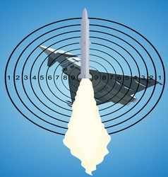 air defense vector image