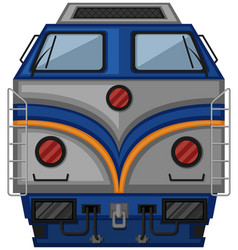 Gray train design on white background vector