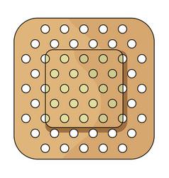 medical plastermedicine single icon in cartoon vector image