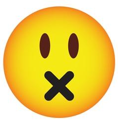 Sadness face vector