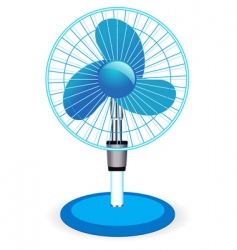 table fan illustration vector image