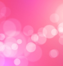 Abstract lights romantic background vector