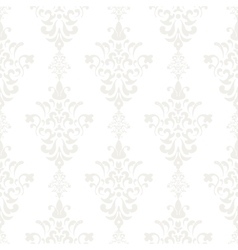 Silver vintage seamless wallpaper vector