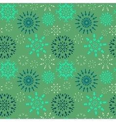 Christmas seamless pattern dark and light blue vector