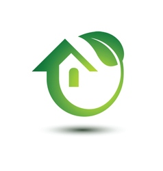 Green house 3 vector image