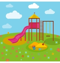 Children Playground 04 A vector image vector image