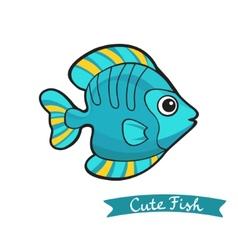 Cute fish vector