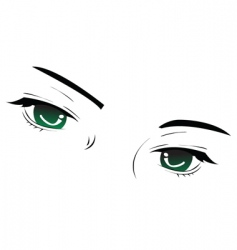 eye sketch vector image vector image