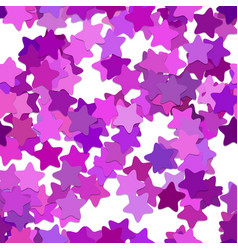 Repeating geometrical star pattern background - vector