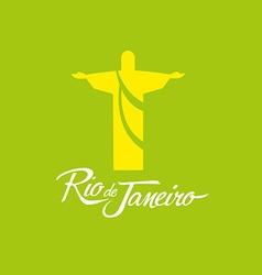 Rio de janeiro brazil icon sign poster vector