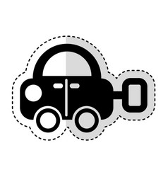toy car isolated icon vector image