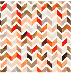 Seamless orange herringbone background vector