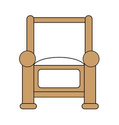 Armchair icon design vector