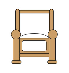 Armchair icon design vector
