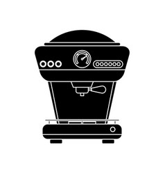 Coffee drink machine vector