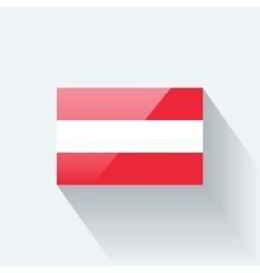 Flag of Austria vector image vector image