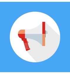 Icon of megaphone speak concept vector