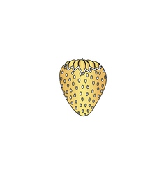 Strawberry computer symbol vector