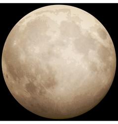 Full moon taken on 13 july 2014 eps 10 vector