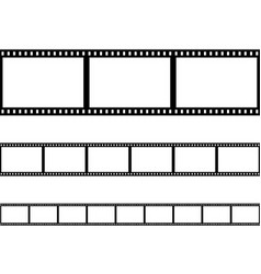 seamless film strip filmstrip vector image