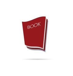 Book icon color vector