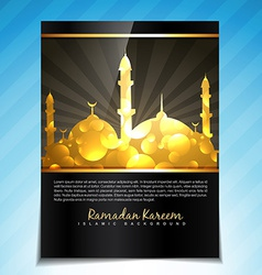 Eid background vector