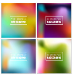 abstract creative concept multicolored vector image vector image