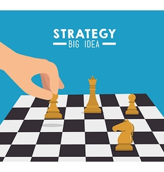 Strategic planning design vector image
