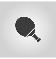 Tennis icon Game symbol Flat vector image