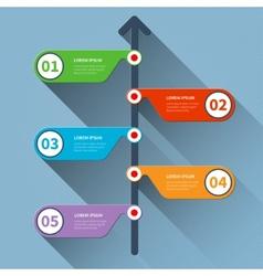 Timeline minimal infographics banner vector