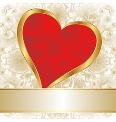 valentines backgroun vector image