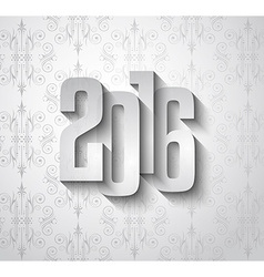 2016 new year background for modern seasonal card vector