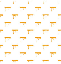 Flowing drop of honey pattern vector