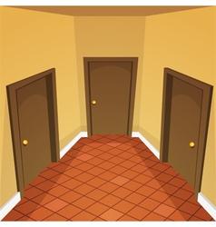 House hallway vector