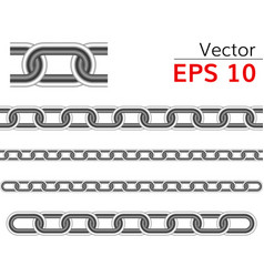 Seamless chain range vector