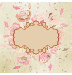 Abstract elegance pattern with floral eps 8 vector