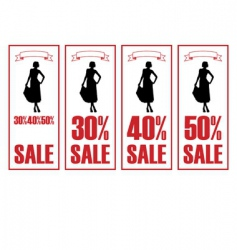 Discount dresses vector