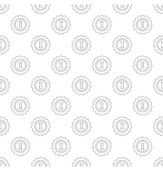 1st place pattern seamless vector image vector image
