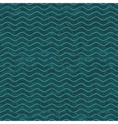 Seamless wave pattern background vector