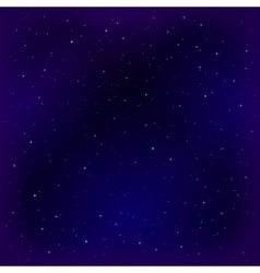 Empty space with stars vector image