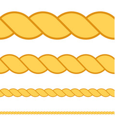 Seamless rope macro thread texture vector