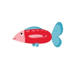 big fish vector image vector image